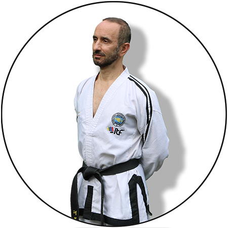 Grand Master Donato Nardizzi, an ITF 9th degree blackbelt. Taekwon-Do Grand Master
